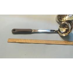 Половник, пластиковая ручка, 41 см